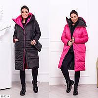 Пальто  женское батал  Амина, фото 1