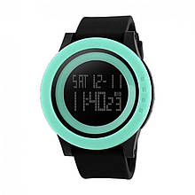 Часы Skmei DG1142 BK- Light Green BOX DG1142BOXBKLG, КОД: 114924