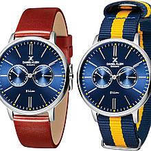 Часы Daniel Klein DK11312-5 Коричневый Желто-синий DK11312-5, КОД: 369298
