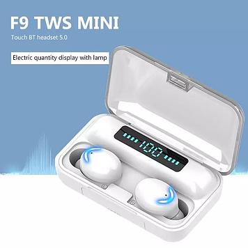 Bluetooth-наушники, TWS, Φ, наушник, стереозвук, беспроводное шумоподавление, внешний аккумулятор 1500 мАч с м