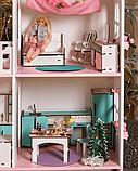 """""""Вилла Милана"""" Кукольный домик NestWood LOL/OMG/Барби, без мебели, МДФ, розовый, фото 5"""