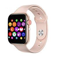 Смарт часы T500 Pink в стиле Apple Watch (Smart Watch) Умные часы Фитнес браслет Фитнес трекер
