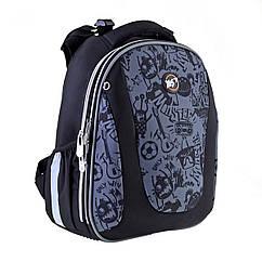 Рюкзак шкільний каркасний YES H-28 Funny monster Чорний 557732, КОД: 1247981