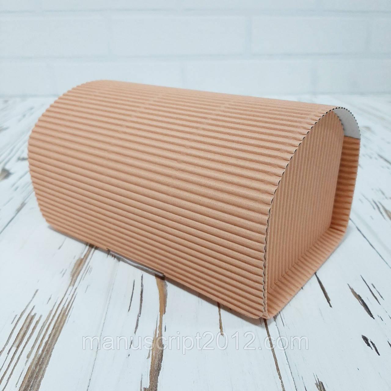 Коробка «Сундук» 150х100х90 мм. пудрова (внутрішній розмір)