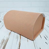 Коробка «Сундук» 150х100х90 мм. пудрова (внутрішній розмір), фото 1