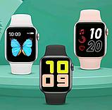 Смарт часы T500 Blue в стиле Apple Watch (Smart Watch) Умные часы Фитнес браслет Фитнес трекер, фото 2