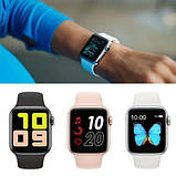 Смарт часы T500 Blue в стиле Apple Watch (Smart Watch) Умные часы Фитнес браслет Фитнес трекер, фото 4