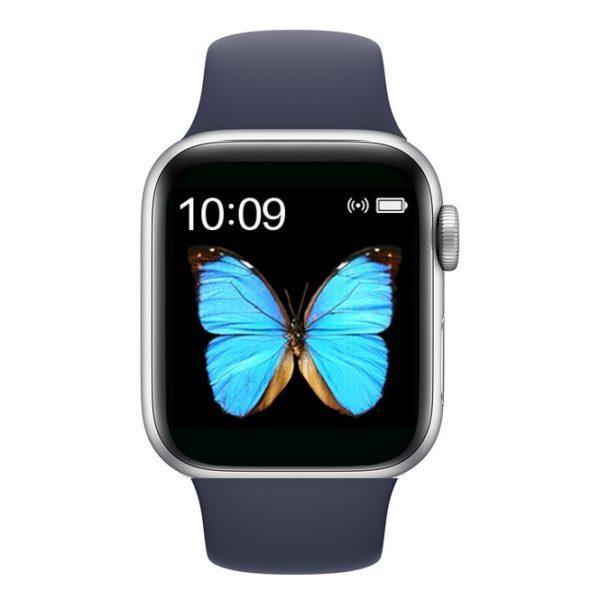 Смарт часы T500 Blue в стиле Apple Watch (Smart Watch) Умные часы Фитнес браслет Фитнес трекер