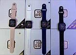 Смарт часы T500 Blue в стиле Apple Watch (Smart Watch) Умные часы Фитнес браслет Фитнес трекер, фото 5