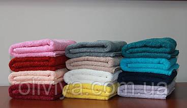 Махровое полотенце для лица т. розовый, фото 2