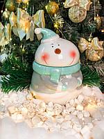 """Емкость для хранения сыпучих «Мятный снеговик"""""""