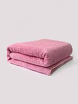 Махровое полотенце для лица т. розовый, фото 3