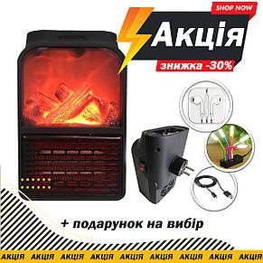 Камин обогреватель Flame Heater 1000W без пульта, фото 2