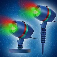 Украсьте дом или квартиру. Использование в любую погоду. Лазерный проектор на Новый год Star Shower lazer