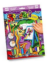Фреска з кольорового піску. Sand Art (Картина з піску) 4+ (SA-02-02) (Danko Toys)