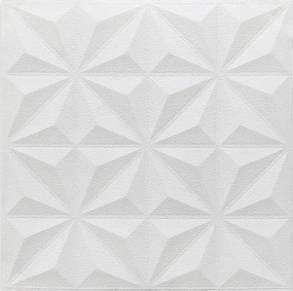 3D панель потолочная самодовлеющая на потолок наклейка ПВХ Самоклейка 3Д Пирамидки, фото 2