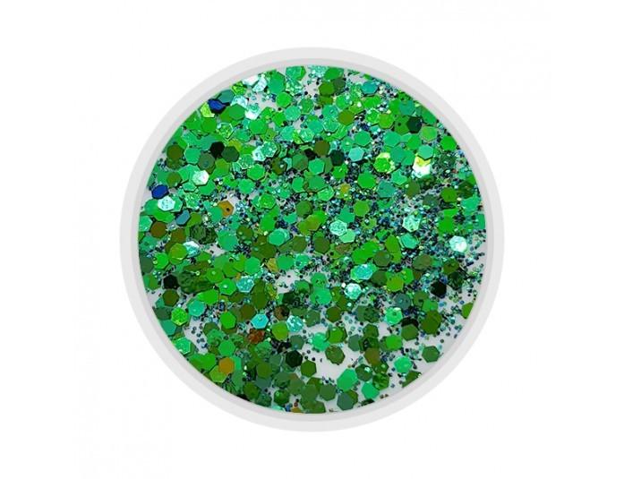 MART Декор для ногтей Брокат Хамелеон сине-зеленый (10), 1 шт