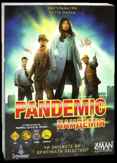 Настольная игра Пандемія (Pandemic) укр.