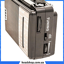 Радиоприемник GOLON RX-608AC - всеволновой радиоприемник AM/FM/TV/SW1-2, фото 3