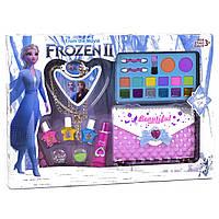 Большой набор декоративной косметики для девочек Frozen (Фрозен) с сумочкой от 3 лет в коробке