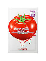 Тканевая маска с экстрактом томата The Saem Natural Tomato Mask Sheet 21 мл 8806164160442, КОД: 1839706