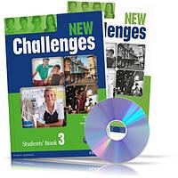 New Challenges 3, Student's book + Workbook / Учебник + Тетрадь английского языка