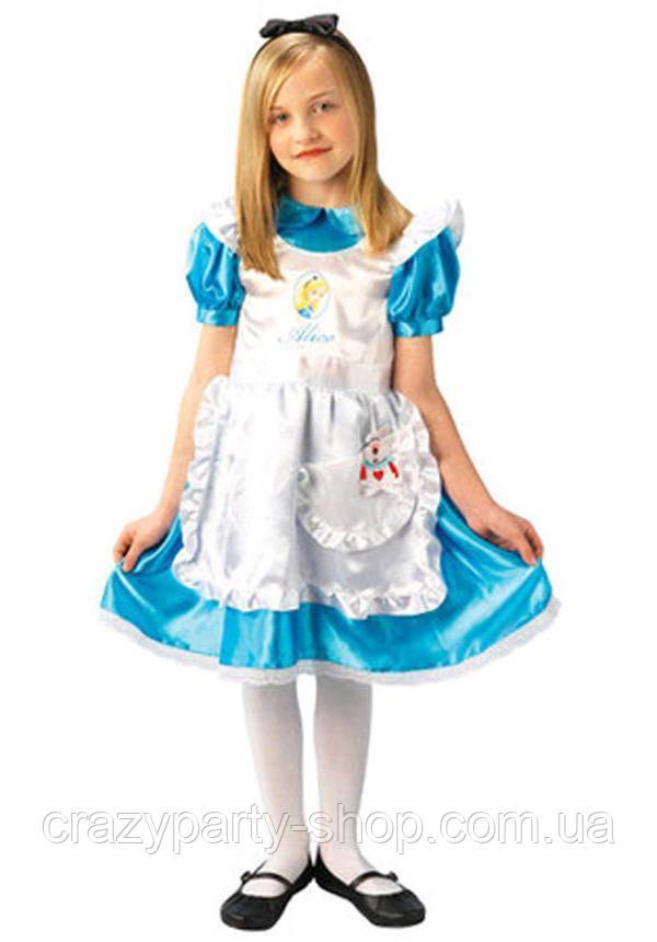 Костюм карнавальный Алиса в стране чудес 122-128 см б/у