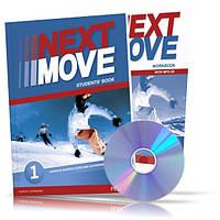 Next Move 1, Student's book + Workbook / Учебник + Тетрадь английского языка