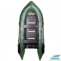 Надувная лодка BARK BN-390S моторная скользящее сидение