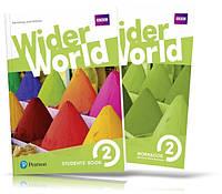 Wider World 2, Student's book + Workbook / Учебник + Тетрадь английского языка