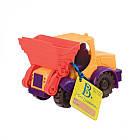 Игрушка Для Игры С Песком - Мини-Экскаватор (Цвет Манго-Сливово-Томатный) Battat BX1420Z, фото 4