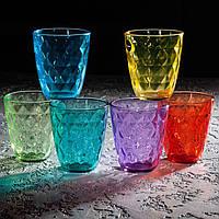 """Набор стаканов 310 мл """"Neo Dia Colorliciou"""" 6 шт, Luminarc."""