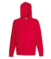 Худи Fruit of the Loom Lightweight hooded sweat S Красный 062140040S, КОД: 1554376