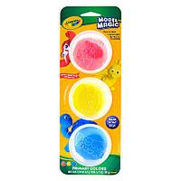 Масса для лепки Crayola Базовые цвета 3 цвета 23-6018, КОД: 2446045