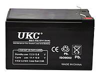 Аккумуляторная батарея UKC 12V 12Ah WST-12 RC201502 003607, КОД: 2396042