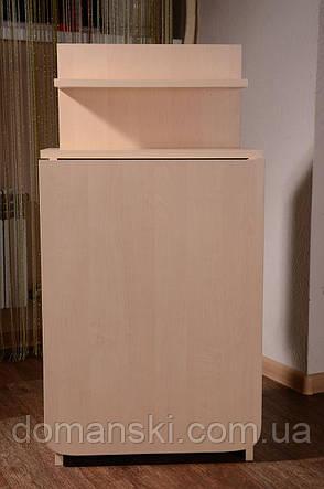 Маникюрный стол складной с полкой для лаков, фото 2