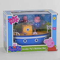 Игровой набор Кораблик семьи Свинки 3 фигурки, аксессуары