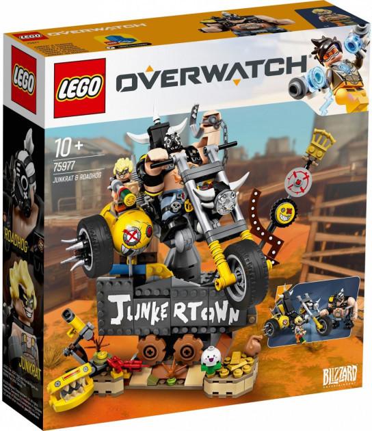 Lego Overwatch Крысавчик і Турбосвин
