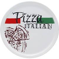Набор тарелок для пиццы ST Napoli Италиан блюдо 30 см + 6 тарелок 20 см Белый ST-30839-03-03psg, КОД: 172257