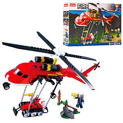 Конструктор SLUBAN M38-B0807 МІСТО - пожежний Вертоліт (325 дит.)