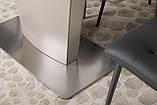 Обеденный стол CHICAGO (Чикаго) 140/185*85 мокко матовое стекло Nicolas (бесплатная доставка), фото 6