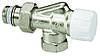 """Радіаторний термостатичний Клапан 1/2"""" осьової з попередньою настройкою MEIBES (Німеччина)"""
