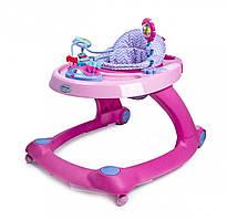 Детские ходунки-толкатель GoodBaby 2 в 1 XB606E-4FSS, Розовые