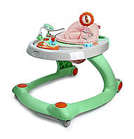Детские ходунки-толкатель GoodBaby 2 в 1 XB606E-4MHL, Зеленые