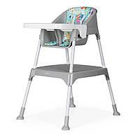 Детский стульчик-трансформер для кормления 3 в 1 Evenflo Y9312-MKGR, Серый, фото 1