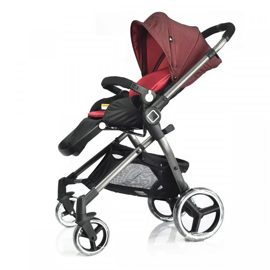 Универсальная детская прогулочная коляска Evenflo Vesse Original LC839A-W8BD, Красная