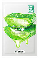 Расслабляющая тканевая маска для лица Алоэ The Saem Natural Skin Fit Relaxing Mask Sheet Aloe 21, КОД: 1839604
