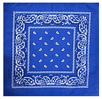 Класична бандана 55*55 см синій
