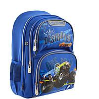 Рюкзак шкільний YES S-30 Juno Truks Синій 557279, КОД: 1247966