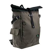 Рюкзак міський Smart Roll-top T-69 20 л Khaki 557518, КОД: 1252063